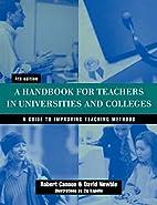 Handbook for Teachers in Universities and…