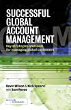 Wilson, Kevin: Successful Global Account Management: Key Strategies and Tools for Managing Global Customers