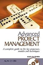 Advanced Project Management: A Complete…