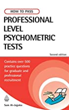 How to Pass Professional Level Psychometric…