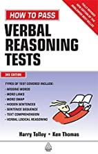 How to Pass Verbal Reasoning Tests by Harry…