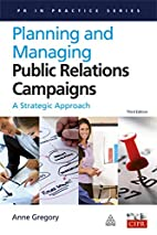 Planning and Managing Public Relations…