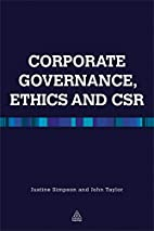 Corporate Governance, Ethics and CSR by John…