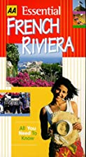Essential French Riviera (AA Essential) by…