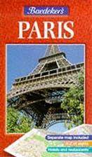 Baedeker's Paris by Baedeker's