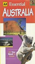 Essential Australia by Anne Matthews