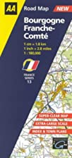 Bourgogne and Franche-Comte by Road Maps Aa