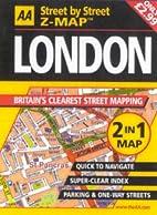 AA Street by Street Z-Map: London by AA…