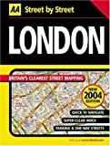 Michelin Travel Publications: Street by Street London Midi 2004 (AA Street by Street)