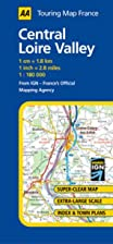 Central Loire Valley (AA Road Map France)
