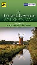 Walker's Map The Norfolk Broads by AA…