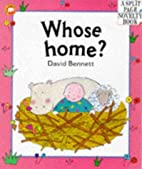 Whose Home? Pb (Parent & Child) by David…