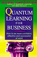 Quantum Learning for Business: How to be…