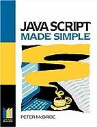 Java Script Made Simple (Made Simple Books)…