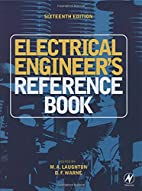 Electrical Engineer's Reference Book by M.…