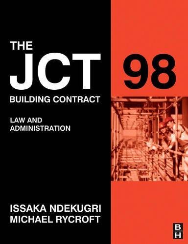 jct-98-building-contract-law-and-administration-second-edition