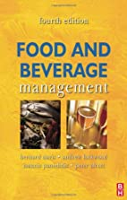 Food and Beverage Management, Fourth Edition…