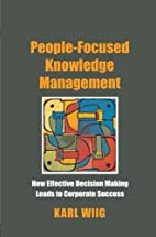 People-Focused Knowledge Management: How…