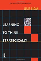 Learning to Think Strategically (New…
