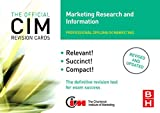 Williams, John: CIM Revision Cards Marketing Research And Information