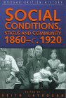 Social Conditions, Status and Community,…