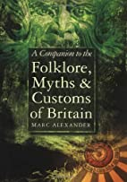 A Companion to the Folklore, Myths and…