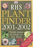 DORLING KINDERSLEY PUBLISHING STAFF: RHS Plant Finder 2001-2002