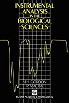 Instrumental Analysis in the Biological…