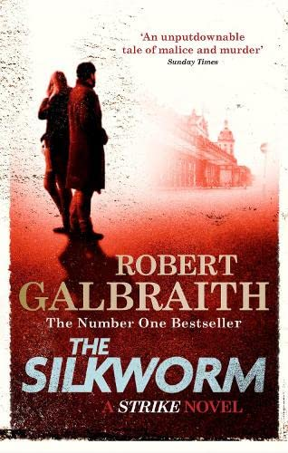 Cover of The Silkworm by Robert Galbraith