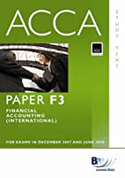 ACCA (New Syllabus) - F3 Financial…