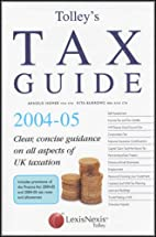Tolley's Tax Guide by Rita Burrows
