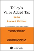 Tolley's Value Added Tax 07 2nd Edt