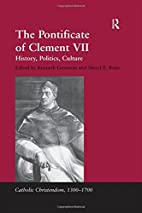 The pontificate of Clement VII : history,…