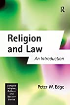 Religion And Law: An Introduction (Ashgate…