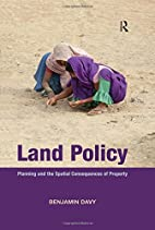 Land Policy: Planning and the Spatial…