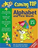Williams, Jean: Coming Top Alphabet And First Words, Ages 3-4