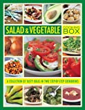 Wheeler, Steven: Salad & Vegetable Cooking Box: A collection of tasty ideas in two step-by-step cookbooks