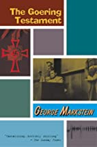 The Goering Testament by George Markstein