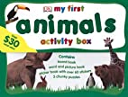 My First Animals Activity Box by DK…