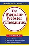 Merriam-Webster: The Merriam-Webster Thesaurus