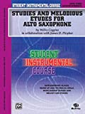 Coggins, Willis: Student Instrumental Course, Studies and Melodious Etudes for Alto Saxophone, Level III