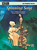 Ellmenreich, Albert: Spinning Song: Early Intermediate Piano Solo (Sheet)