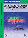 Paine: Student Instrumental Course Studies and Melodious Etudes for Bassoon