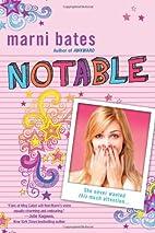 Notable (Smith High) by Marni Bates