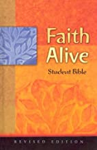 Faith Alive Bible-NIV-Student by Concordia…