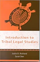Introduction to Tribal Legal Studies by…