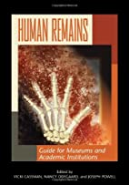 Human Remains: Guide for Museums and…