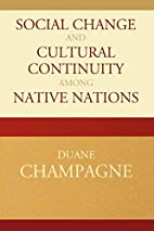 Social Change and Cultural Continuity among…