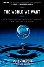 The World We Want: New Dimensions in…