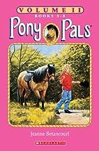 Pony Pals Volume II-Books 5-8 (Pony Pals,…